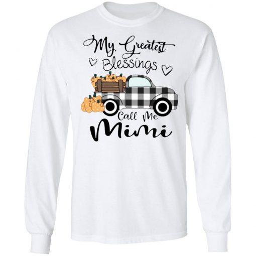 Car my greatest blessings call me Mimi shirt