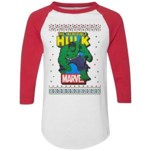MCU Marvel The Incredible Hulk Logo Christmas