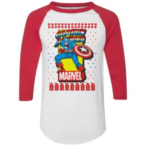 MCU Marvel Captain America Logo Christmas