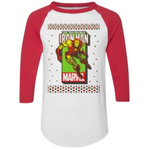 MCU Marvel The Invincible Iron Man Logo Christmas