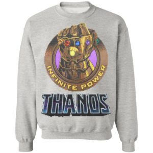 MCU Marvel Infinite Stone Power Avengers Thanos Christmas sweatshirt