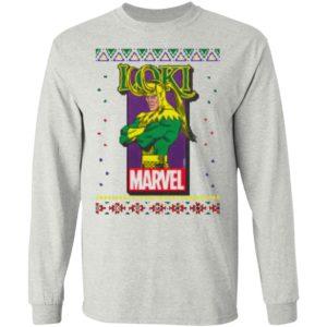 MCU Marvel Loki Logo Christmas ls