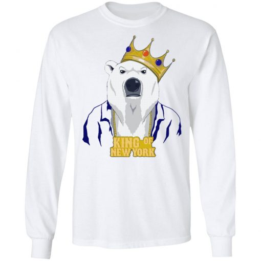 King Of New York Shirt Pete Alonso Polar Bear New York Mets