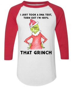 I just took a DNA test turns out i'm 100% that Grinch Santa