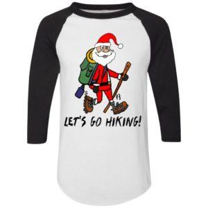 Santa Claus Let's Go Hiking Christmas Cartoon