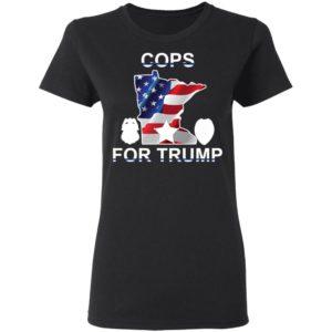 Cops For Trump ladies Shirt