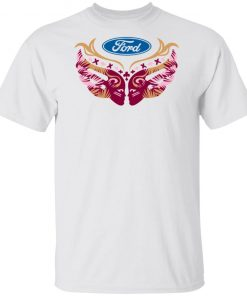 Ford Cares Warriors In Pink Shirt Ls Hoodie