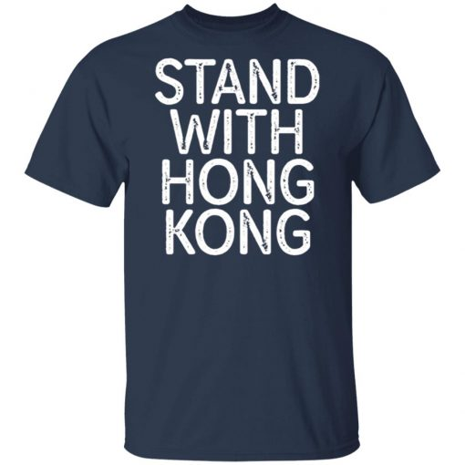 Lakers Fans Stand With Hong Kong T-Shirt