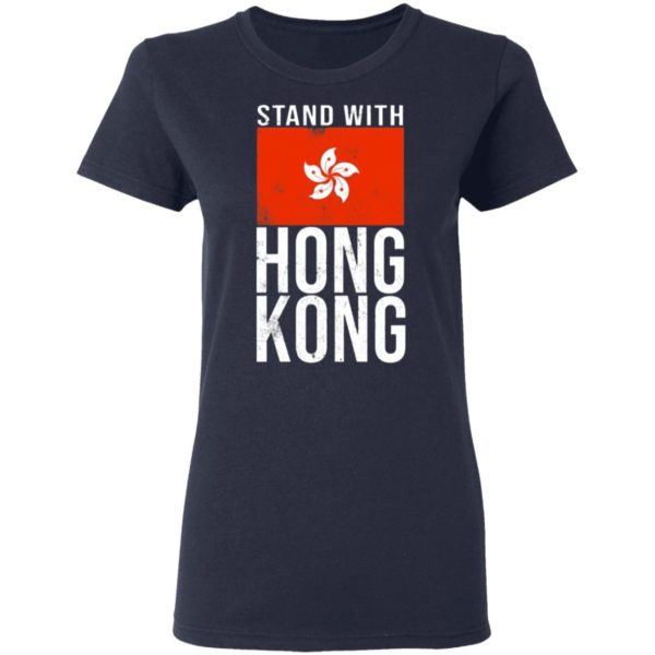 Stand With Hong Kong Flag T-Shirt