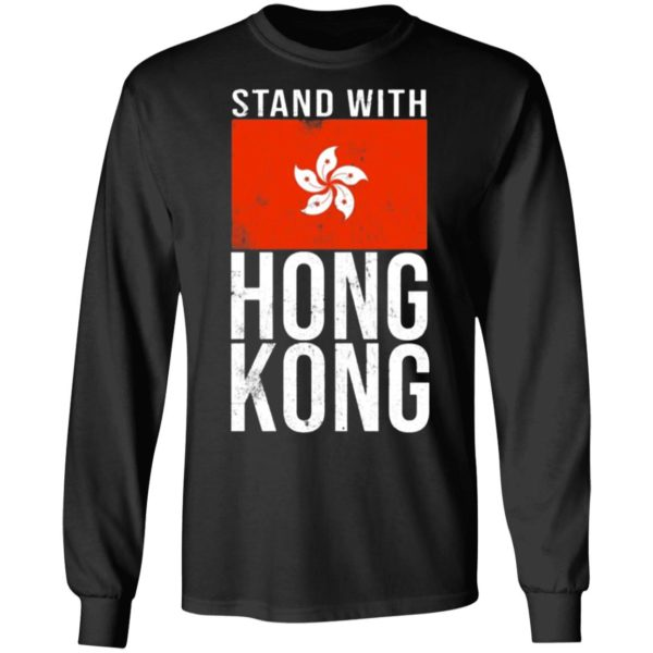 Stand With Hong Kong Flag ls