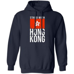 Stand With Hong Kong Flag hoodie