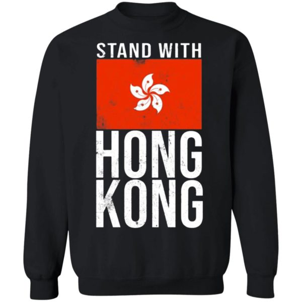 Stand With Hong Kong Flag sweater