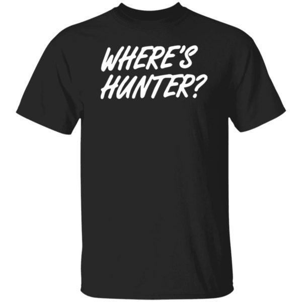 Donald Trump Wheres Hunter T-Shirt