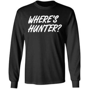 Donald Trump Wheres Hunter ls