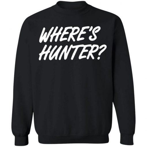Donald Trump Wheres Hunter sweater