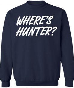 Donald Trump Wheres Hunter sweaterDonald Trump Wheres Hunter sweater