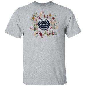 This Girl Loves Hallmark Christmas Movies shirt