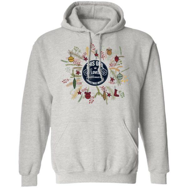 This Girl Loves Hallmark Christmas Movies hoodie