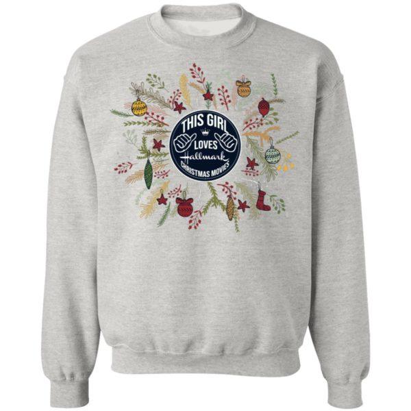 This Girl Loves Hallmark Christmas Movies sweater
