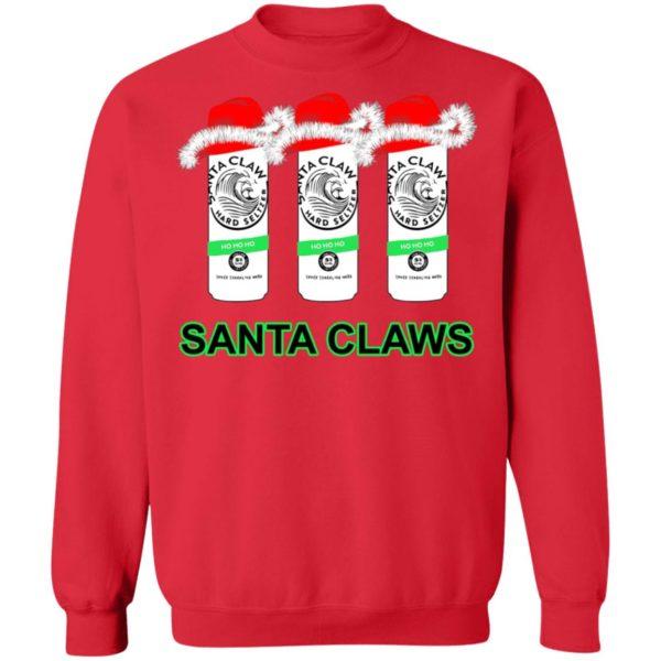 White Claw Santa Claws Hard Seltzer Christmas