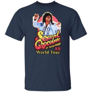 Mr Randy Watson Sexual Chocolate 88 World Tour Shirt