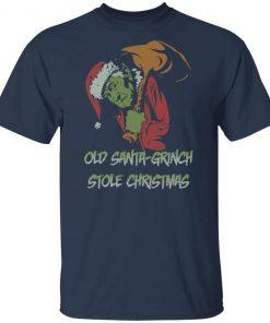 Old Santa-Grinch Stole Christmas Shirt
