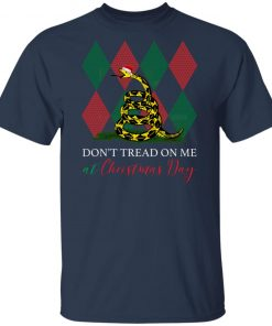 Snake Ugly Christmas Don't Tread On Me At Christmas Day shirt