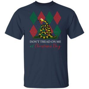 Snake Ugly Christmas Don't Tread On Me At Christmas Day shirt