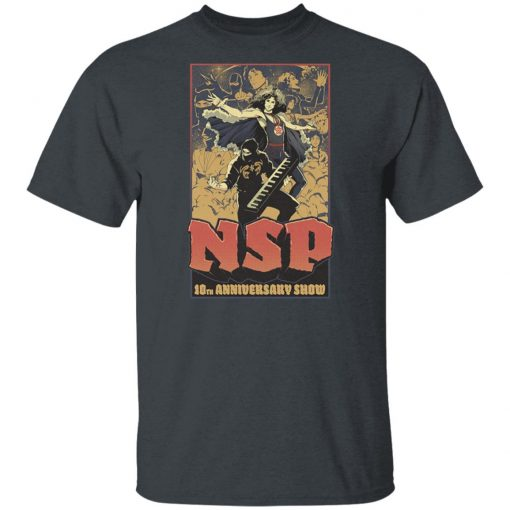 Ninja Sex NSP Party 10th Anniversary Shirt