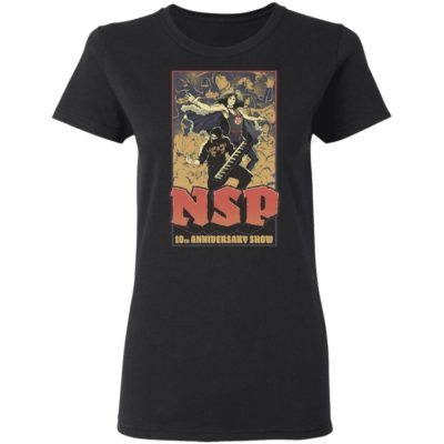 Ninja Sex NSP Party 10th Anniversary Shirt