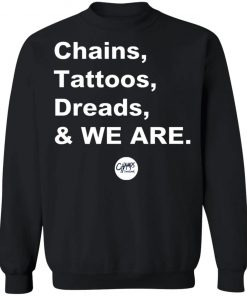 Penn State Chains Tattoos Dreads And We Are