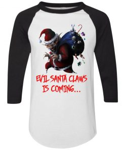 Evil Santa Claws Is Coming Christmas