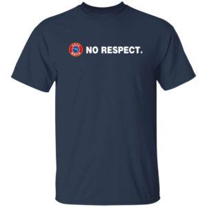 Nazi Salutes No Respect Tee Shirt