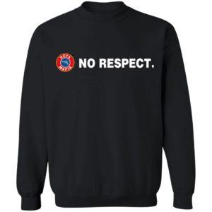 Nazi Salutes No Respect