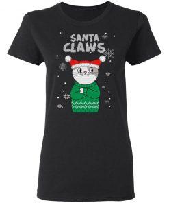 Santa Claws Cat Ugly Christmas shirt