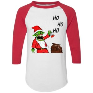 Evil Santa Father Christmas Impression sur toile Sweatshirt