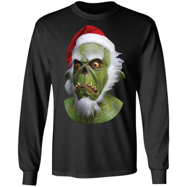 Grinch Green Christmas Santa Claws ls