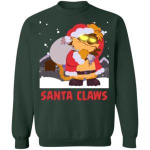 Santa Claws Christmas Sweater