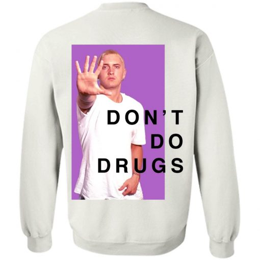 EMINEM DON'T DO DRUGS PSA BACK T-SHIRT