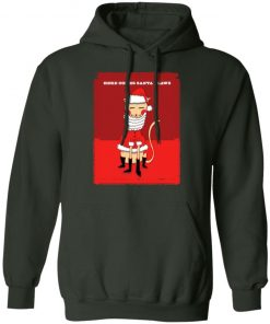 Here Comes Santa Claws Christmas hoodie