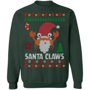 Santa Claws Lobster Ugly Christmas sweater
