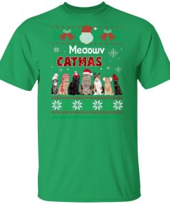 Cat Ugly Christmas Sweater Funny Xmas shirt