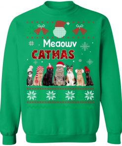 Cat Ugly Christmas Sweater Funny Xmas sweater
