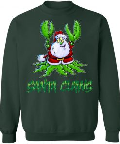 Santa Claws Christmas Funny sweater