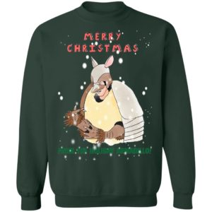 Merry Christmas From The Holiday Armadillo sweater