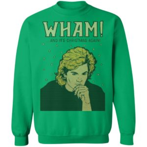Wham And It's Christmas Again George Michael sweater