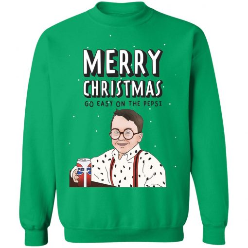 Funny Christmas Go Easy On The Pepsi sweater