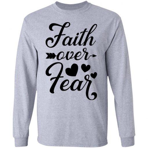 Faith Over Fear White