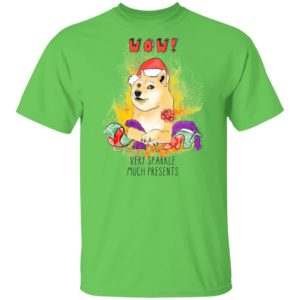 Very Sparkle Much Presents Doge Christmas Funny shirt