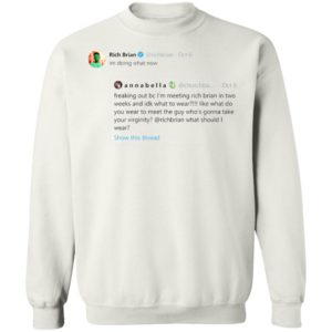 Rich Brian im doing what now sweater